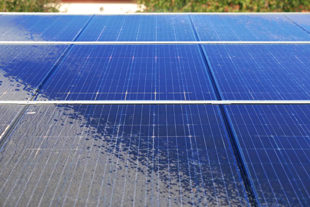 Gereinigde zonnepanelen TipTop Solar